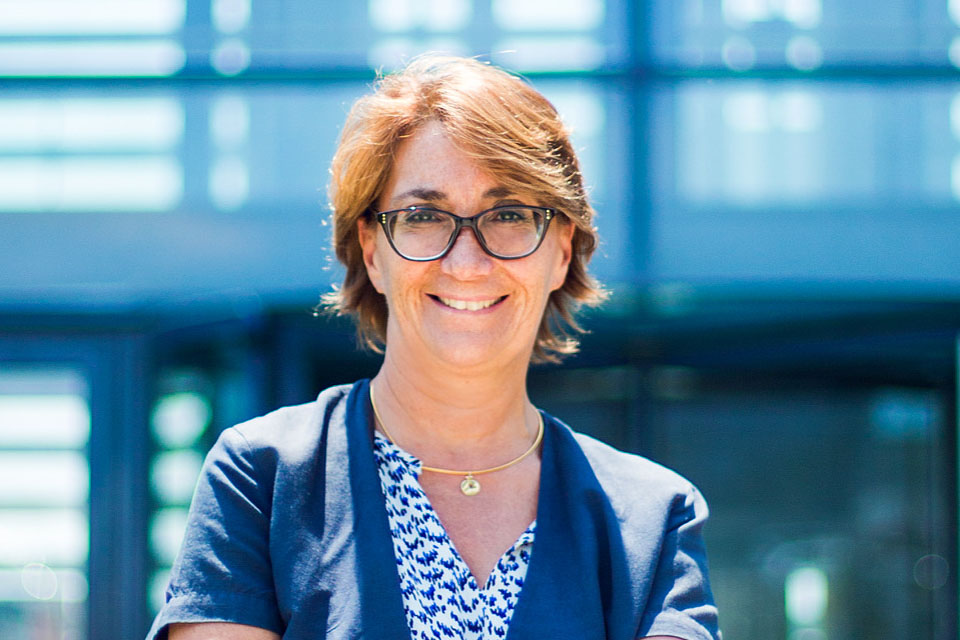 Martine Ladoucette, DG de l'ARS Océan indien